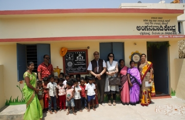 Happy Anganwadi Inauguration 30th March 2019