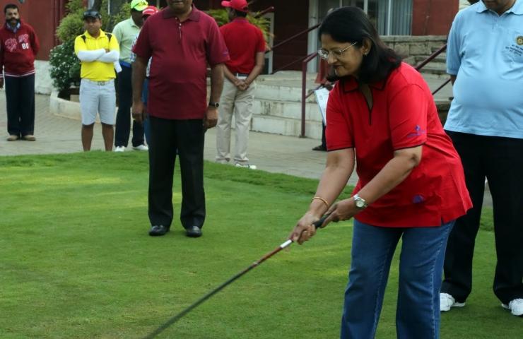 RCB SBI Golf Event (5 Photos)