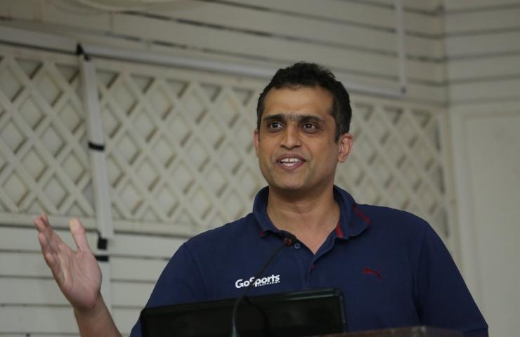 Speaker – Nandan Kamath – Go Sports (3 Photos)