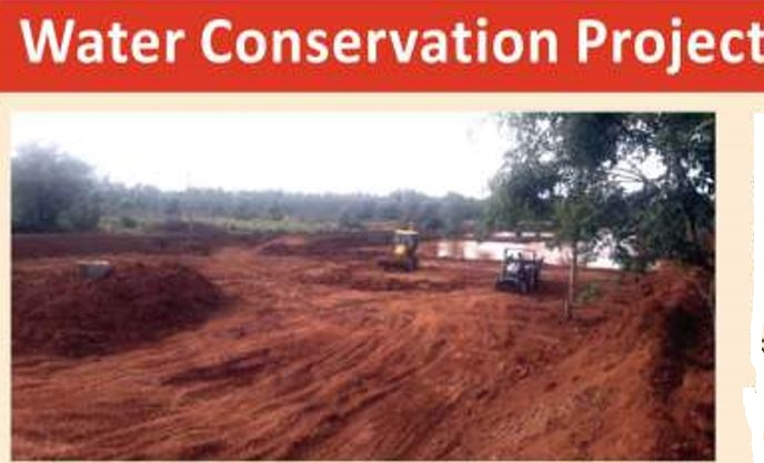 Water Conservation Project – Challahalli Village Lake