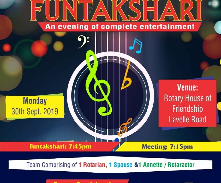 RAAG RANG Funtakshri 30th September 2019