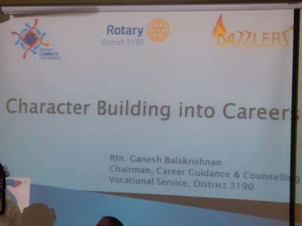 Career Guidance RBV 25th August 2019